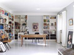 The scandinavian Appartment of Annette Trampedach - FLAIR fashion & home Inspiration für Kaminzimmer/Study