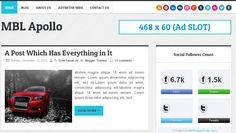 SEO Friendly Adsense Ready Responsive Blogger Templates