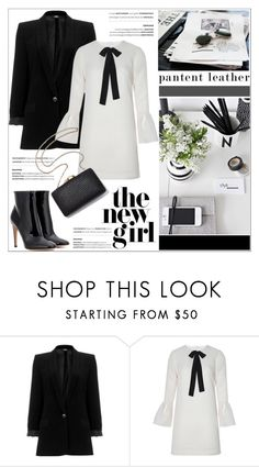 """""""City Slickers: Patent Leather"""" by helenevlacho ❤ liked on Polyvore featuring Related, Gianvito Rossi, patentleather and contestentry"""