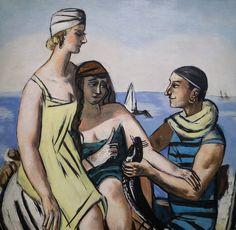 Max Beckmann (1884-1950) Der Kleine Fisch dét. (1933) musée national dart moderne, Centre Pompidou (Paris, France) by Denis Trente-Huittessan, via Flickr