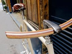 Wooden Handlebars by Officine Milani Firenze