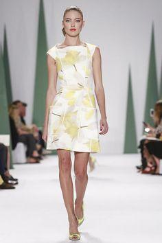 Carolina Herrera Ready To Wear Spring Summer 2015 New York #NYFW #SS15 #RTW