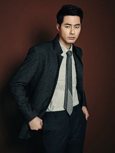 Jo In Sung (along with Han Chae Ah) is boasting PARKLAND's versatile collection for this year's fall and winter seasons. The collection caters to all types of guys (and gals) who have d… Actors Male, Hot Actors, Asian Actors, Korean Actors, Actors & Actresses, Korea University, Tv Series 2013, Jo In Sung, Korean Face