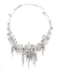 David Tutera Embellish on itsabrideslife.com/Bridal Jewelry/Wedding Jewelry/Statement Necklace