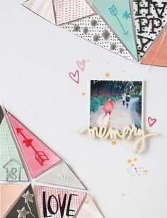 PHOTO + PAPER + STAMP = CRAFTTIME!!!: LAYOUT - HAPPY MEMORY