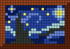 Alpha friendship bracelet pattern added by KrazyKnotz. Perler Bead Templates, Diy Perler Beads, Perler Bead Art, Perler Patterns, Cross Stitch Art, Cross Stitch Designs, Cross Stitching, Cross Stitch Embroidery, Cross Stitch Patterns