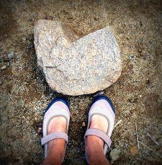 Hiking Nichol's Canyon. Finding love everywhere.