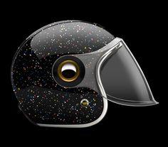 Fashionable Ruby & Ill-Studio Helmets - Luxatic