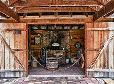 Blacksmith Shop, Manatee Historical Park, FL