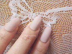 unghie rosa cipria opaco ovali unghie malva finte sposa