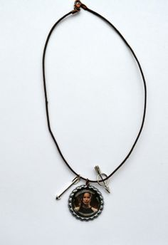 Hunger Games Katniss Necklace with arrow charms  you by SpearCraft, $6.00