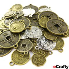 DIY Chinese New Year Coin Jewelry Recipes from eCrafty.com | DIY Jewelry & Crafts from eCrafty.com