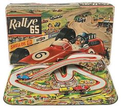 Technofix No. 311 Rallye 65 racing set German, set comprises… - Clockwork - Toys & Models - Carter's Price Guide to Antiques and Collectables