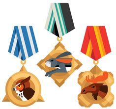NIKE Animal Badges   Always With Honor