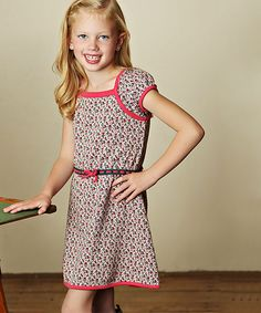 Look at this Pink Noelle Knit Dress - Toddler & Girls on #zulily today!