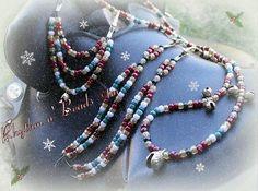 Holly Berry design, by Rhythm-n-Beads ©tm
