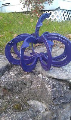 Purple horseshoe pumpkins