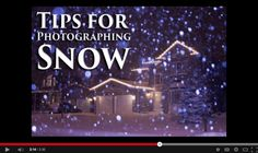 Tips for Photographing Snow [video]. http://digital-photography-school.com/tips-for-photographing-snow