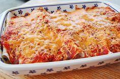 Grilled Chicken and Cream Cheese Enchiladas – 5 Ingredients