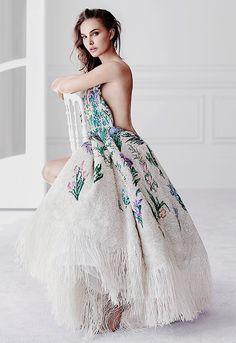 """eternvlecho: """" Natalie Portman for Christian Dior 'Miss Dior' Eau de Parfum Fragrance 2017 Campaign. """""""