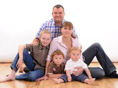 A beautiful family portrait, perfect for cherishing those memories for years to come!