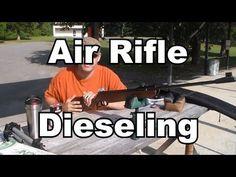 Air Rifle dieseling for more power Air Rifle, Survival Tips, Chevrolet Logo, Guns, Rifles, Weapon, Facebook, Youtube, Bush Craft
