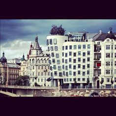 Photo from the Instacanvas gallery for ilaria_agostini. Modern architecture in Prague