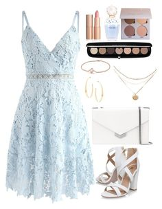 A fashion look from August 2017 featuring cami dresses, white sandals and leather shoulder bag. Browse and shop related looks. Cute Casual Outfits, Girly Outfits, Simple Outfits, Stylish Outfits, Casual Dresses, Look Fashion, Fashion Outfits, Womens Fashion, Elegantes Business Outfit