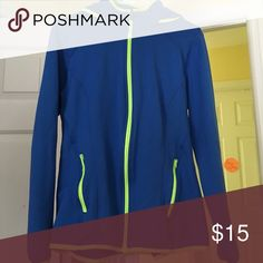 Neon sweatshirt! Condition: AWESOME!! No flaws! Has a hood I the back and is super cozy for when you just need a light jacket!  Tops Sweatshirts & Hoodies