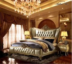 Royal Bedroom, Bedroom Sets, Dream Bedroom, Home Bedroom, Luxury Bedroom Design, Luxury Decor, Bed Furniture, Luxury Furniture, Floor Couch