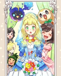 Gtes maried at the gae of ten wow i winder if hse is marrying the vampire aka ash Lusamine Pokemon, Pokemon Waifu, Pokemon People, Pokemon Comics, Pokemon Memes, Pokemon Fan Art, Otaku Anime, Anime Art, Dessin My Little Pony