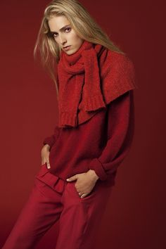 www.carlosmoreno.com.es  Eleonor Delecluse for VEIN Magazine nº 1  #eleonordelecluse #fashion #editorial #red #vein #veinmagazine