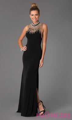 Image of JVN by Jovani Halter Prom Gown JVN98114 Style: JO-JVN-JVN98114 Detail Image 1
