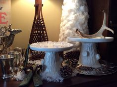 White Glass Cake Stand Tj Maxx