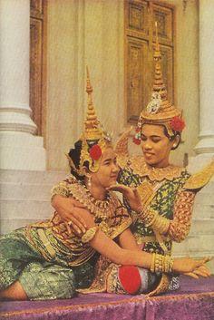 Dancers of Cambodia, 1952