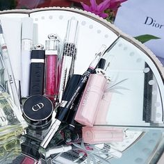 Dior Beauty overload. #Diorvalley #FluidStick #Dior #Lipstick #DiorBeauty #Dior