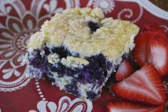 """Point-less"" Meals: Blueberry Breakfast Cake"