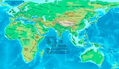 Byzantium: World Map of 610 AD, the transition of the Eastern Roman Empire from Latin to Greek under Heraclius Century, Byzantine, Greece) Dark Angels, P51 Mustang, Warhammer 40k, World History Map, History Class, History Pics, History Timeline, Teaching History, Black History