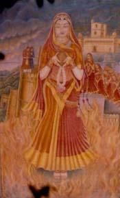 Rani Padmini of Chittorgarh - The Victory over Death