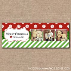 CHRISTMAS Facebook Cover Personalized by ModernWhimsyDesign, $10.00