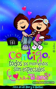 Caro y David © ZEA www.tarjetaszea.com