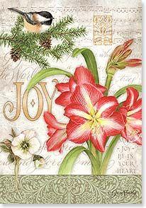 Christmas Card - A season of comfort and joy...   Jane Shasky   73462   Leanin' Tree