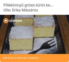 Pillekönnyű grízes-túrós kevert Cornbread, Ethnic Recipes, Food, Millet Bread, Eten, Meals, Corn Bread, Diet