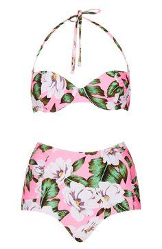 Tropical glam bikini