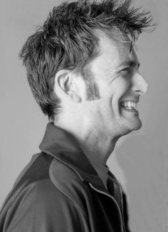 That smile is very infectious! #DavidTennant