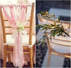 оформление стульев на свадьбу своими руками