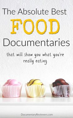 These food documentaries will have you totally captivated from start to finish! Each documentary on the list is worth watching and they'll all change the way you eat. Best Documentaries On Netflix, Spiritual Documentaries, Health Documentaries, Netflix Movies To Watch, Movie To Watch List, Good Movies To Watch, See Movie, What The Health Documentary, Documentary Film