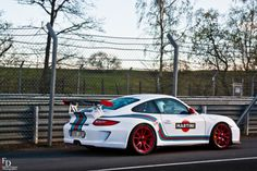 "Drink and drive!  Porsche 997 GT3 RS ""Martini"""