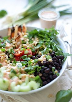 Quinoa Bowl with Tahini and Sun-Dried Tomato Dressing