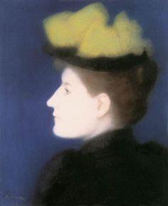 Rippl Portrait of Margit Piátsek - Category:Pastels by József Rippl-Rónai - Wikimedia Commons Maurice Denis, Pop Art, Canvas Online, Art Brut, Best Portraits, Post Impressionism, Oil Painting Reproductions, Art Moderne, Modern Artists
